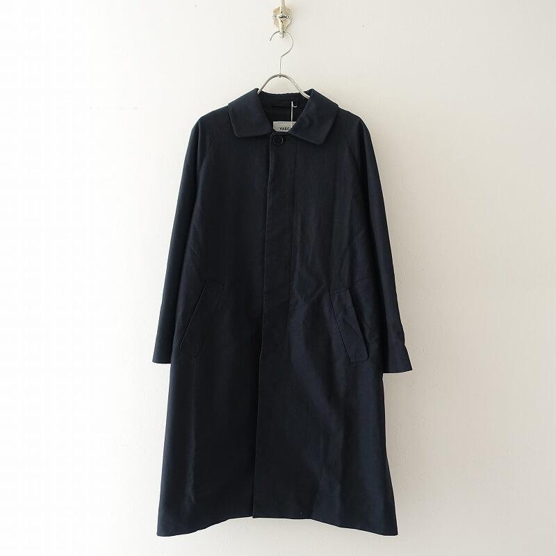 【美品】 ヤエカ YAECA 67552 Soutien Collar Coat Long ステンカラーコート S【中古】【81F02】【高価買取中】