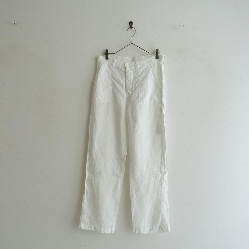 【美品】 ネストローブ nest Robe リネンワークパンツ F【中古】【30H02】【高価買取中】