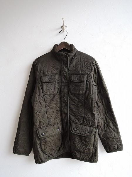 バブアー Barbour ジップアップキルティングジャケット size8【中古】【高価買取中】【店頭受取対応商品】