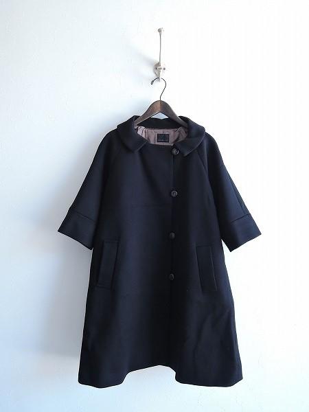 ドゥーズィエムクラス Deuxieme Classe ウール七分袖コート【中古】【高価買取中】【店頭受取対応商品】