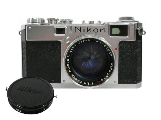 ニコン S2 f1.4 レンズ交換式カメラ Nikon 【質屋出店】