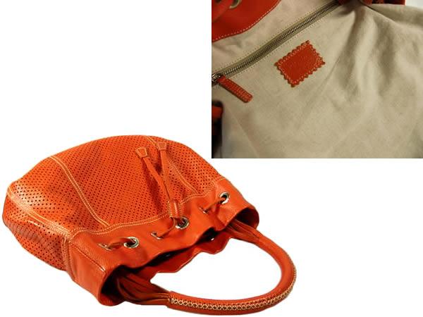 PRADA calf hand orange PRADA