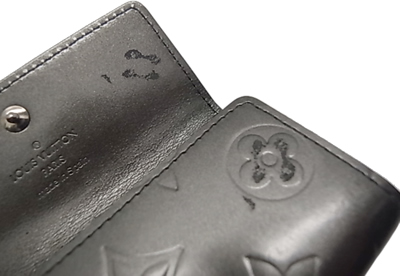 Key case for four four 4 Louis Vuitton monogram mat key case (ノワール) M65162 ミュルティクレ LOUIS VUITTON Vuitton