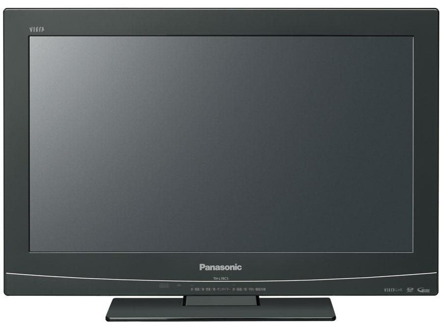 パナソニック 19V型 ハイビジョン 液晶テレビ ブラック VIERA TH-L19C5-K Panasonic 【中古】代引き不可品