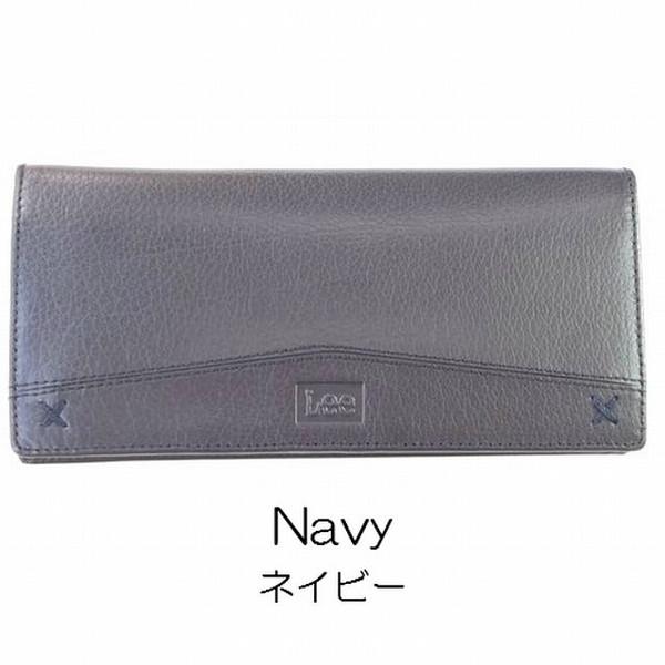 :Lee リー 長財布 革【未使用新品】コインケースつき カードポケット11カ所 財布