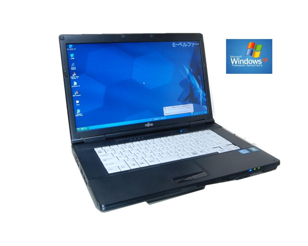 90日保障 いまさらですが WINDOWS XP搭載 XPなら最強レベル 富士通 FMV-A552 デュアルスレット B730 1.80G XPなら十分 WINDOWS XP ソフトに最適 メモリー2.0G 250G DVDマルチ (英語版XP変更可)【中古