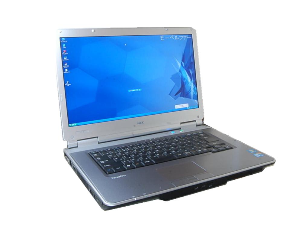 通信ソフトに最適 選べるOS XP OR WINDOWS7 言語(日本語・英語・中国語)NEC VY/VJ 25すぐに使える DVD内臓 シ 2.0G-4.0Gメモリー【中古】
