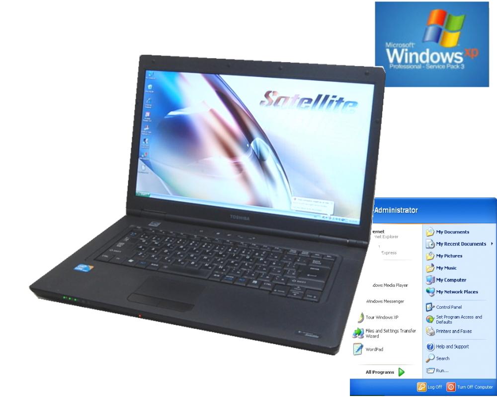 貴重 英語版 WINDOWS XPインストール 英語キーボード互換TOSHIBA B551 XPなら爆速 Core I5 2.50G 15インチワイド液晶 DVD 英語版専用ソフトに最適【中古】