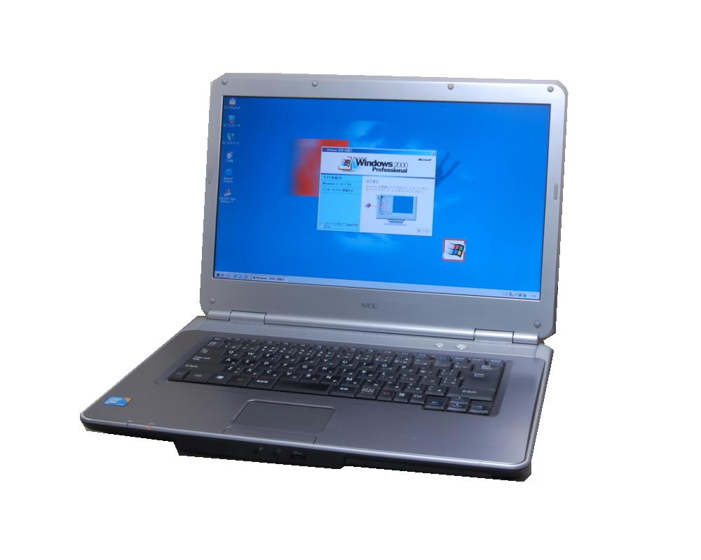 【今更ですが!Windows2000正常動作パソコン】NEC VY25 WIN2000 専用ソフトを動作の為に NEC 最終動作&最高スペックレベル デュアルコアCore2Duo2.53G WIN2000では爆速 DVD【中古】