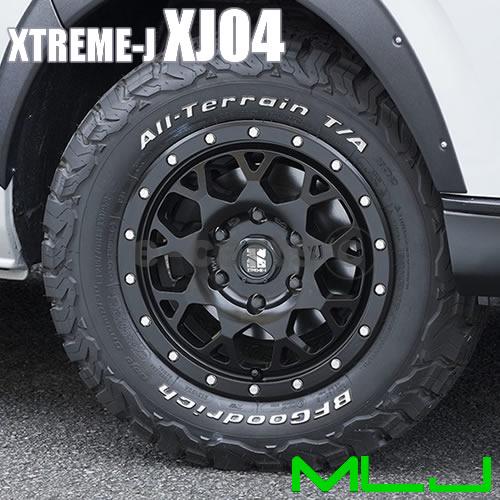 送料無料 MLJ エクストリームJ XJ04 155/55R14 輸入タイヤ 4本SET クロカン ekスポーツ ライフダンク