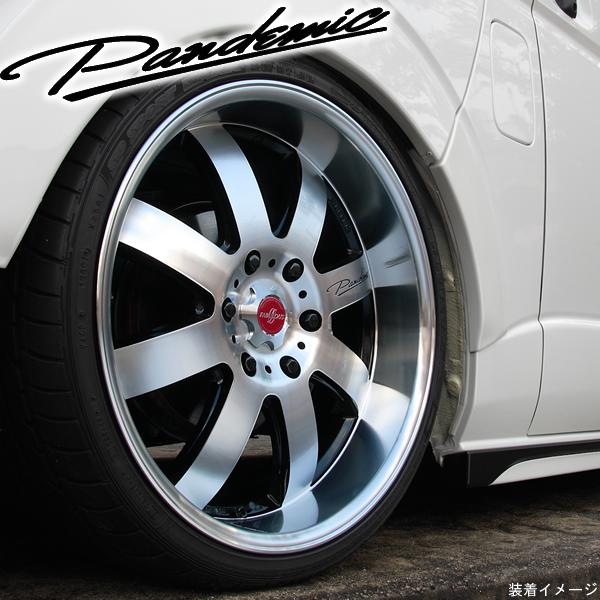 【タイヤ・ホイール 4本セット】ファブレス PANDEMIC LM-8◆225/50R18 TOYO トランパスmp-Z◆18インチ 7.5J+35 6H-139.7◆タイヤ・ホイール 新品4本(1台分)セット