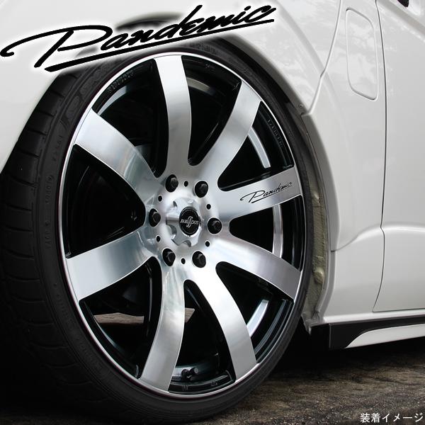 【タイヤ・ホイール 4本セット】ファブレス PANDEMIC LW-8◆215/60R17 輸入タイヤ◆17インチ 6.5J+48 6H-139.7◆タイヤ・ホイール 新品4本(1台分)セット