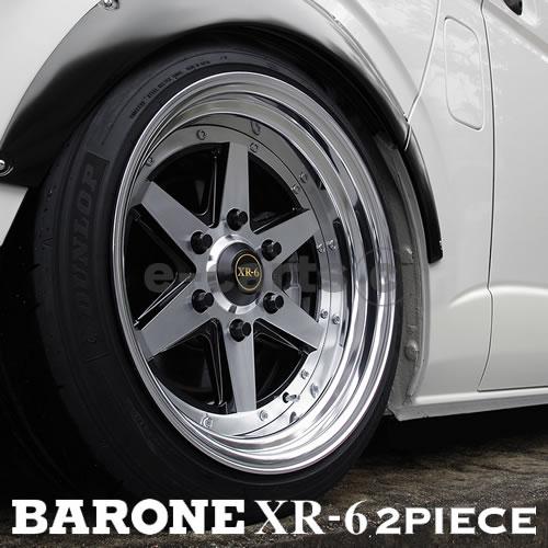 タイヤ ホイール 4本セット ファブレス BARONE XR-6 2P 215 70R16 ブリヂストン デューラーA T001 16インチ 7J 6H-139.7 タイヤ ホイール 新品4本 1台分 セット 父の日 七夕祭り お歳暮