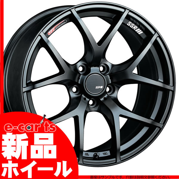 ホイール1本 SSR GTX01 9.5J-18 (15) (エスエスアール ジーティーエックスゼロワン) 5/114.3