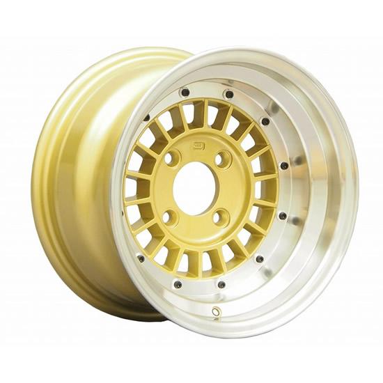 コーリン プロジェクト フォーカスレーシング スポーク 14インチ 6.5J 4H-100 ゴールド 送料無料 ホイール 1本価格