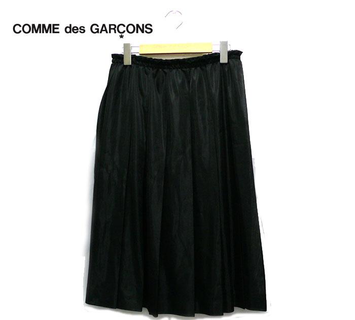 【COMME des GARCONS】コム デ ギャルソン チュール ミモレ丈 スカート ブラック サイズM 2012年モデル【中古】