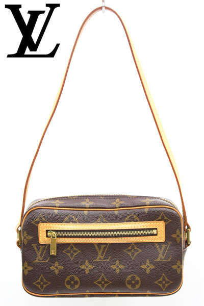 LOUIS VUITTON ルイヴィトン モノグラムポシェット・シテ M51183WD2H9EIY