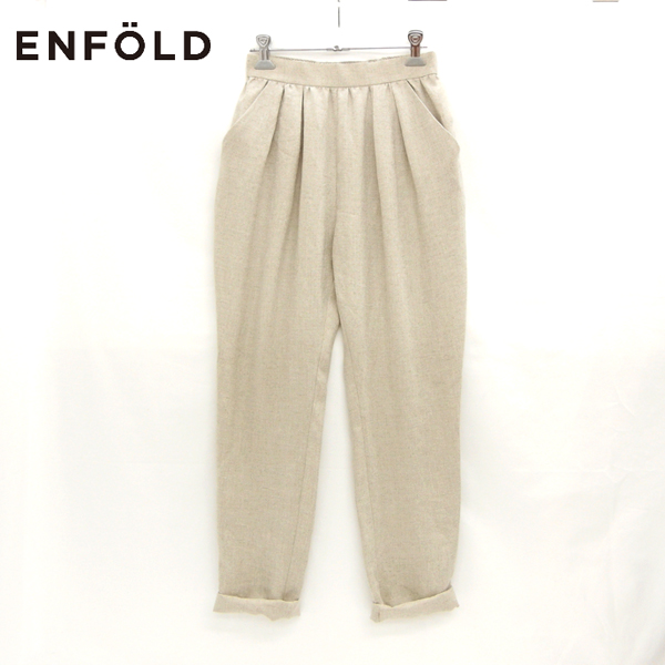 【ENFOLD】エンフォルド ジョッパーズパンツ サイズ36 【中古】