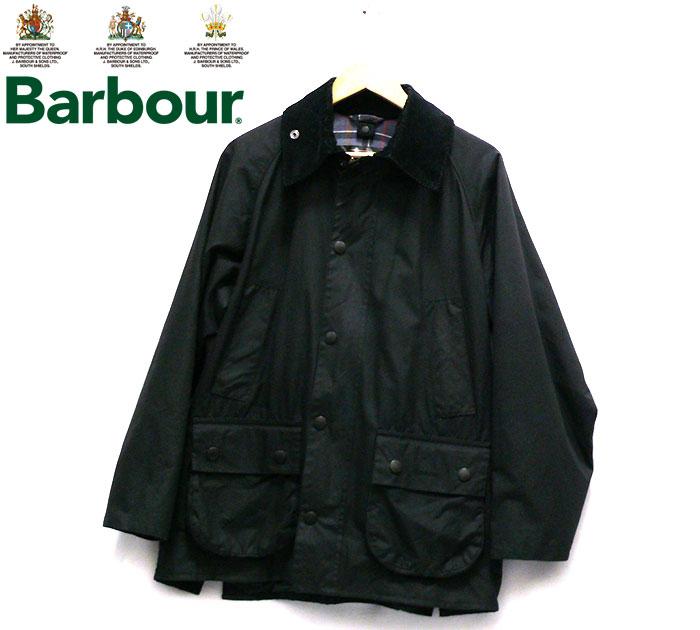 【Barbour】バブアー オイルドジャケット ビデイル サイズ36 イギリス製 黒 ブラック アウター トップス メンズ 男性用 RC1994【中古】