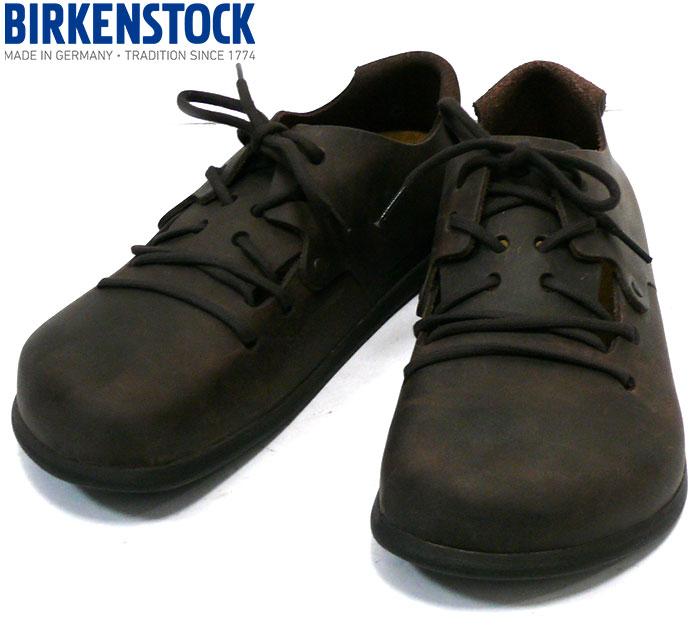 【BIRKENSTOCK】ビルケンシュトック モンタナ ハバナ 27cm ドイツ製 靴 シューズ メンズ スニーカー 男性用 未使用 RC2124【中古】