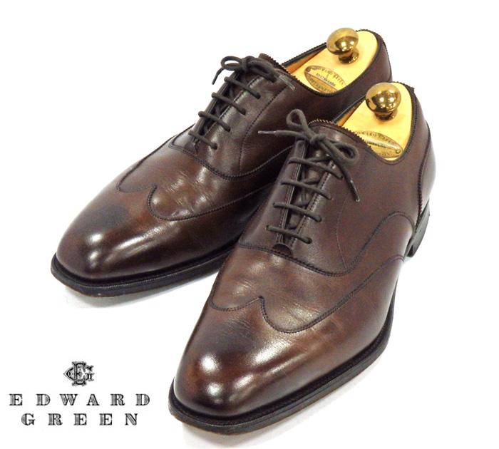 【EDWARD GREEN】エドワード グリーン Beaulieu ビューロー ラスト808 サイズ ドレスシューズ 紳士靴 メンズ RM1040【中古】