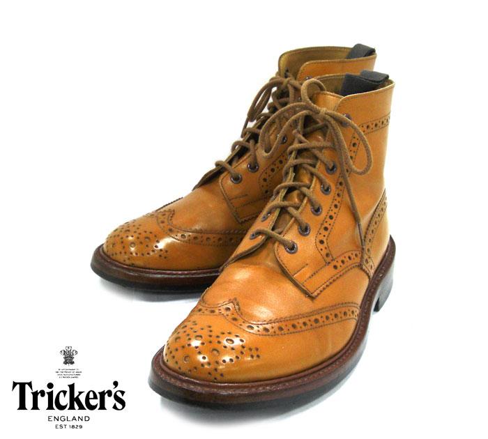 Tricker's トリッカーズ #2508 サイズ7 1 2 F5 MALTON ACORN モールトン カントリーブーツOkXZTPiu