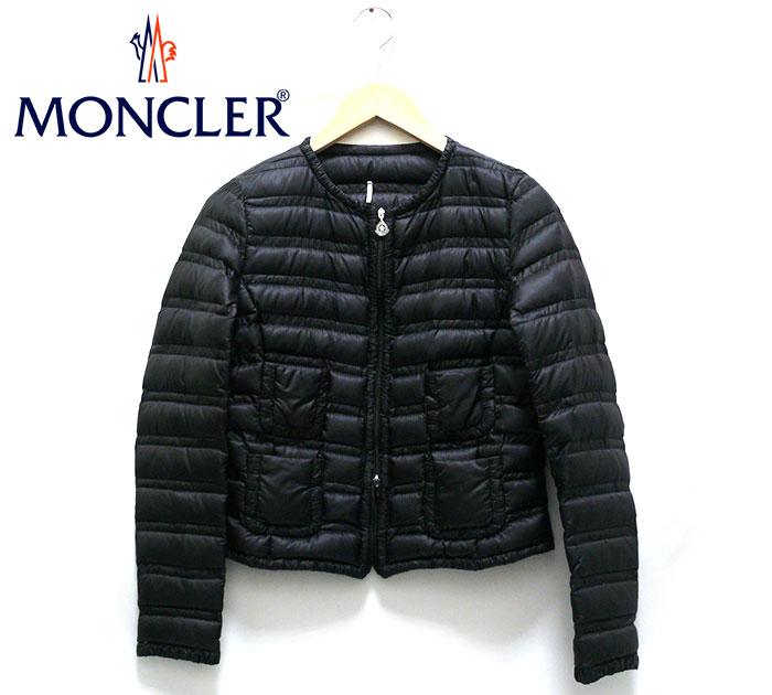 【MONCLER】モンクレール LISSY リッシー スプリングダウンジャケット サイズ0 レディース 女性用 アウター 黒 ブラック RC1331【中古】