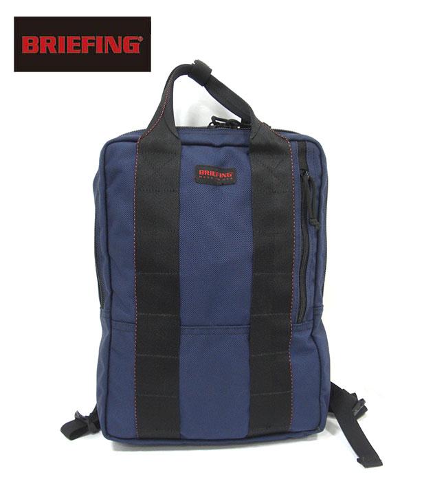 【BRIEFING】ブリーフィング ビジネスリュック ミッドナイト ブルーFT PACK BRF343219 バリスティックナイロン USA製 メンズ RM2779 【中古】