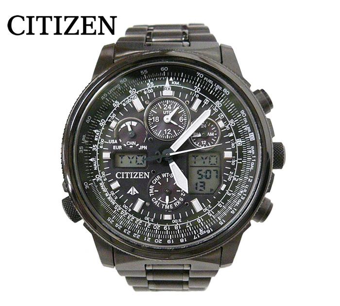 人気が高い  【CITIZEN】 ECO DRIVE シチズン エコドライブ GN-4W-S-12G U680 ブラック メンズ腕時計 ソーラー 電波時計 箱付き ON1108【】, オワセシ a66c0bdc
