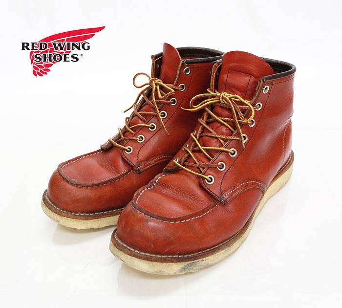 【REDWING】レッドウイング 8875 クラシック モックトゥ ブーツ サイズ 27.5cm US9 1/2 E【中古】
