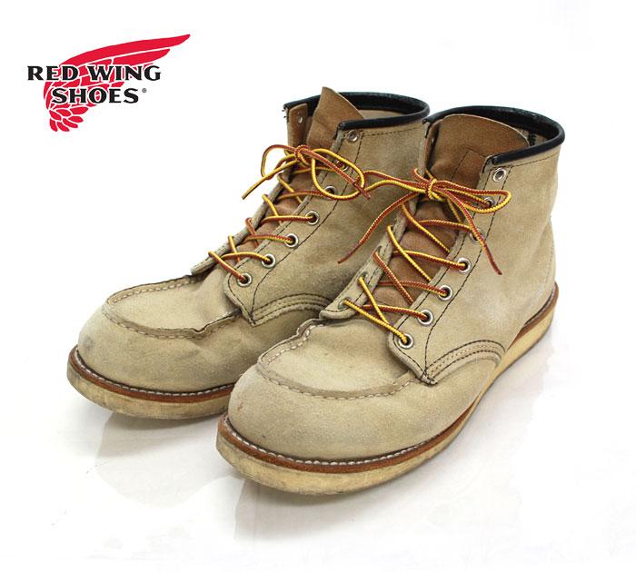 【REDWING】レッドウイング 8173 アイリッシュセッター ブーツ スエード US9 1/2 E 27.5cm【中古】