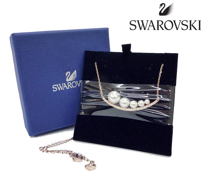 【SWAROVSKI】スワロフスキー アジアコレクション Fundamental ファンダメンタル ネックレス 5232057 美品 【ほぼ未使用】【中古】FF1133