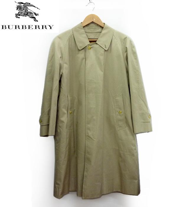 【Burberrys】バーバリープローサム ヴィンテージ ライナー付き ステンカラー コート 88 160【中古】FF0934