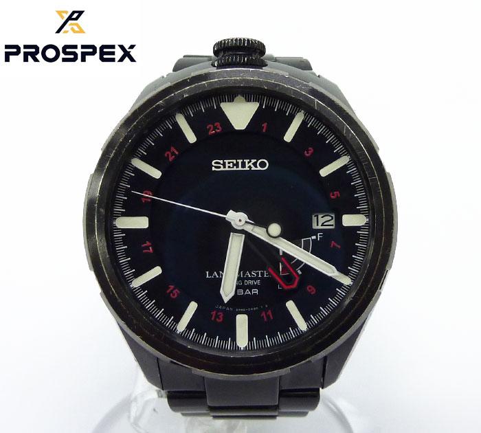 【SEIKO】 セイコープロスペックス ランドマスター 腕時計 MIURA エベレスト 2013 限定300本 SBDB007 自動巻き【中古】FF0953