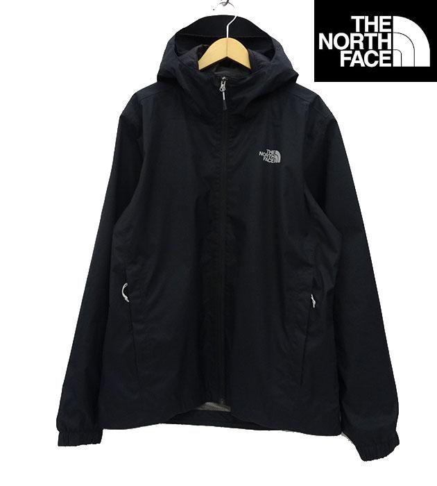 【THE NORTH FACE】ノースフェイス DRYVENT ドライベント マウンテンパーカ Lサイズ ブラック USAモデル 良品 【中古】FF1738