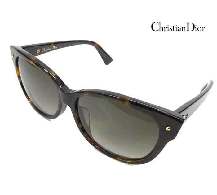 【Christian Dior】クリスチャン ディオール Dior Jupon2F サングラス 086HA 58□15 140 イタリア製 【中古】FF1808