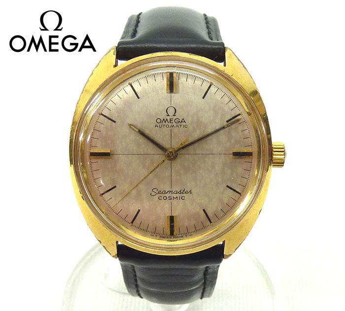 【OMEGA】オメガシーマスターコスミック 自動巻き 腕時計メンズ アンティーク【中古】FA0295