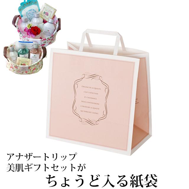 ギフトセットのお持ち運びに アナザートリップ ランキングTOP10 まとめ買い特価 美肌ギフトセットがちょうど入る紙袋