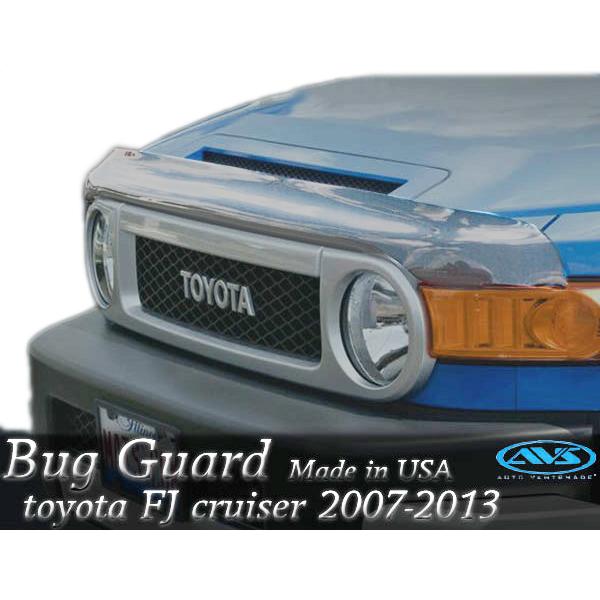 【あす楽対応】AVS社製 バグガード トヨタ FJクルーザー 2007年式以降 USA輸入品