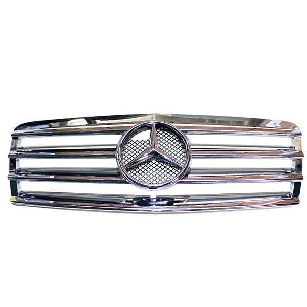 メルセデス・ベンツ W210 前期用クローム フロントグリル