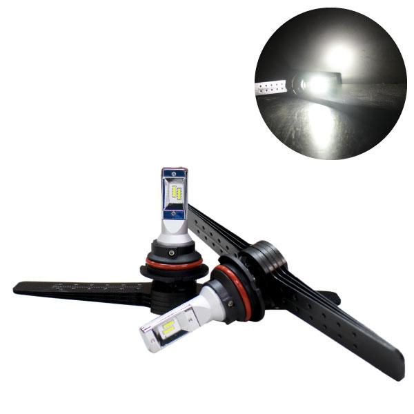 LEDヘッドライト HB5アルミフィン冷却タイプ4000lm 6500KCREE製チップ使用! 多くのアメ車に適合するタイプ!