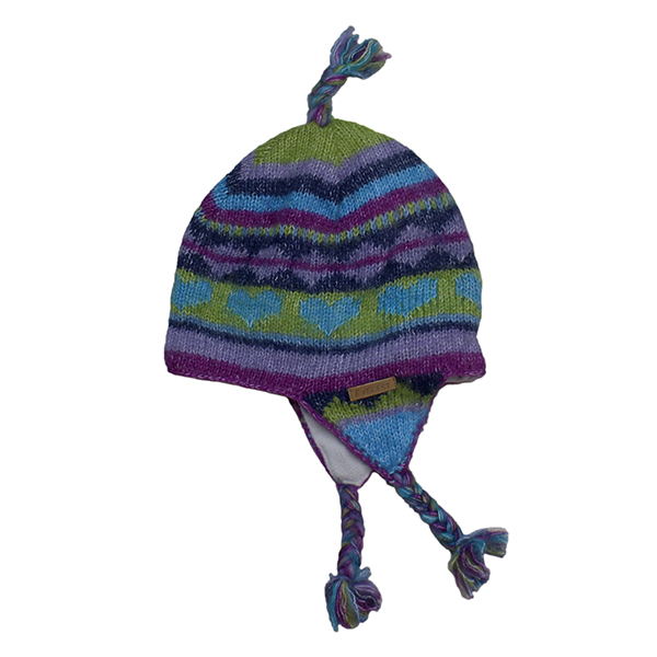 b2fc127b724ffd With Everest Designs kids earflap hat ear cover! A pretty knit chief!