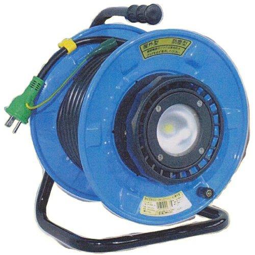 日動工業 LEDライトリール SDW-EB22-10W 防雨型 VCT2.0 20m