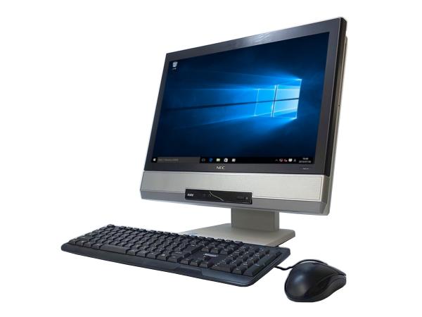 中古パソコン 【Windows10】【一体型パソコン】[N59D] NEC MK25TG-H (Core i5 4200M 2.5GHz 4GB 250GB 19インチワイド DVD-ROM Windows10 Pro 64bit)【中古デスクトップ】【中古】【アウトレット】