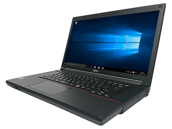 中古パソコン【Windows10】[F130A][無線LAN対応] 富士通 LIFEBOOK A553/G (Celeron 1.8GHz 4GB 320GB DVD-ROM Windows10 Professional 64bit)【中古ノートパソコン】【アウトレット】