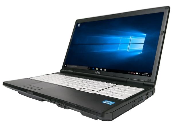 中古パソコン【Windows10】[F132Aw][外観わけあり] 富士通 LIFEBOOK A572/FX (Core i3 3110M 2.4GHz 4GB 320GB DVDマルチ Windows10 Pro 64bit)【中古PC】【ノートパソコン】