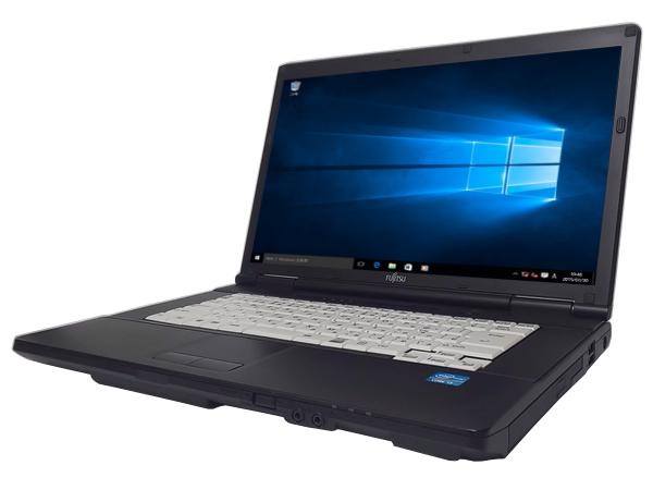 中古パソコン【Windows10】[F133AX][無線LAN対応] 富士通 LIFEBOOK A561/D (Core i3 2330M 2.2GHz 4GB 250GB DVD-ROM Windows10 Professional 64bit)【中古PC】【ノートパソコン】