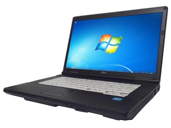 【中古ノートパソコン】【Windows7】[F133A][無線LAN対応] 富士通 LIFEBOOK A561/D (Core i3 2330M 2.2GHz 4GB 250GB DVD-ROM Windows7 Professional)【中古PC】【アウトレット】