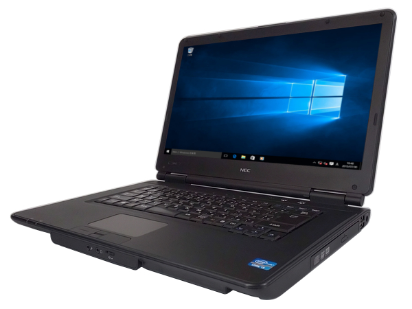 中古パソコン 【Windows10】[N112Aw][無線LAN対応] NEC VK25T/X-E (Core i5 3210M 2.5GHz 4GB 250GB DVD-ROM Windows10 Professional 64bit)【中古】【アウトレット】
