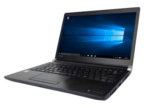 中古パソコン【Window10】[T16B] 東芝 dynabook R73/U (Core i5 6300U 2.4GHz 4GB 500GB 13.3インチ DVDマルチ Windows10 Pro 64bit)【中古PC】【ノートパソコン】【アウトレット】